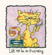 Life Can Be So Frustrating by Peter Underhill - Tiddles - (KIT)